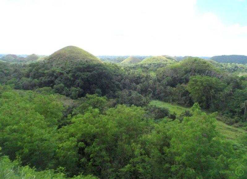Çikolata Tepeleri Choclate Hills, Bohol adası turu