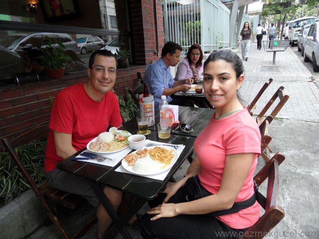 Öğle Yemeği Arası, Sao Paulo Gezilecek Yerler, Brezilya Gezisi Notları