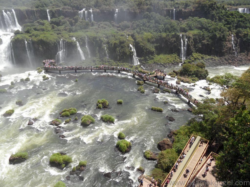 İgasu Şelalesi İskelesi, Iguazu Şelaleleri, Brezilya Gezisi Notları