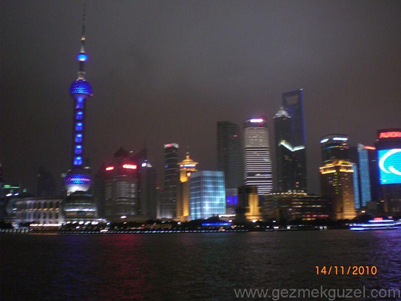 Şangay Gece Hayatı Şangay tekne turu