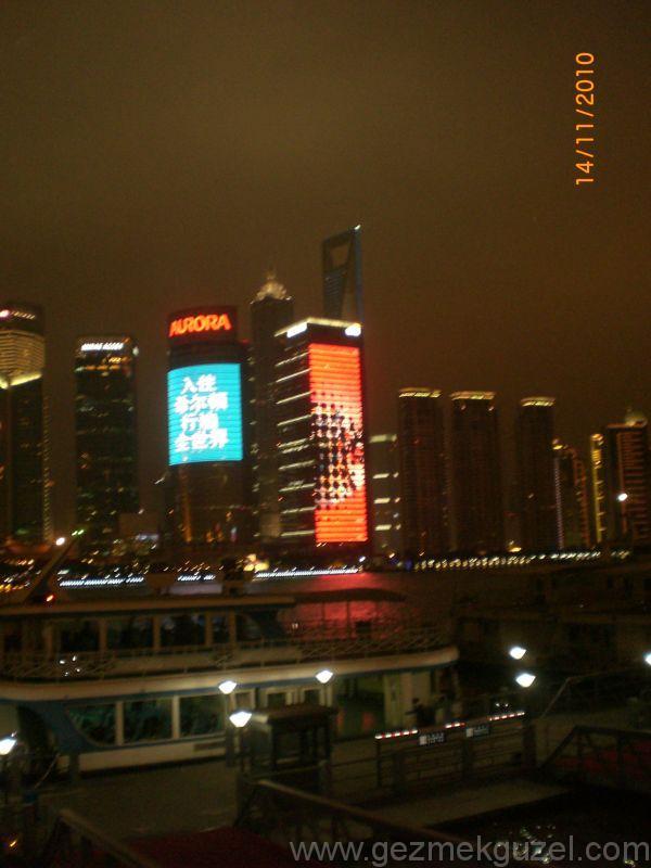 Şangay gece tekne turu