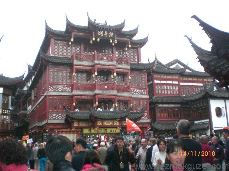 Şangay gezilecek yerler Yu Yuan bahçesi