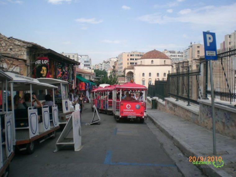 Athens Happy Train, Atina Gezisi Notları