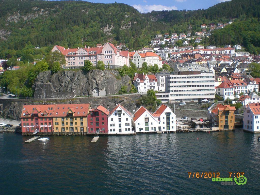 Norveç Fiyortları - Bergen Kıyıları