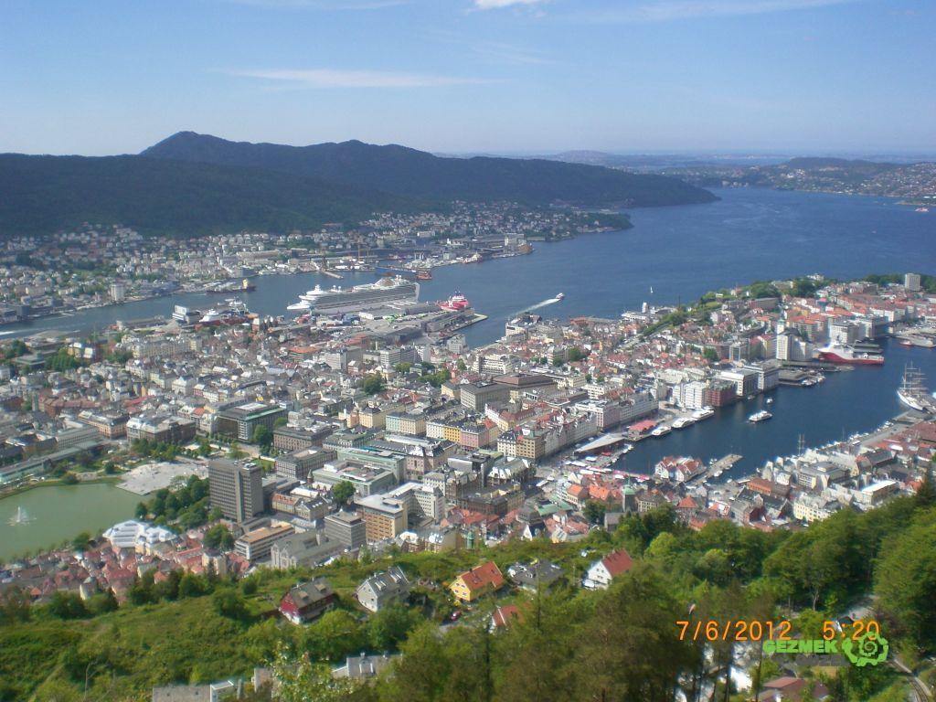 Norveç Fiyortları - Bergen