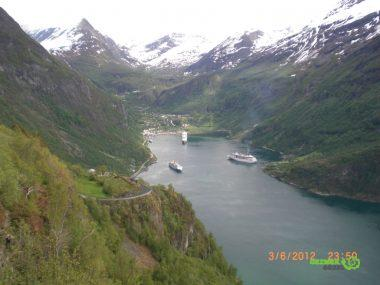 Norveç Fiyortları, Geiranger Fiyordu