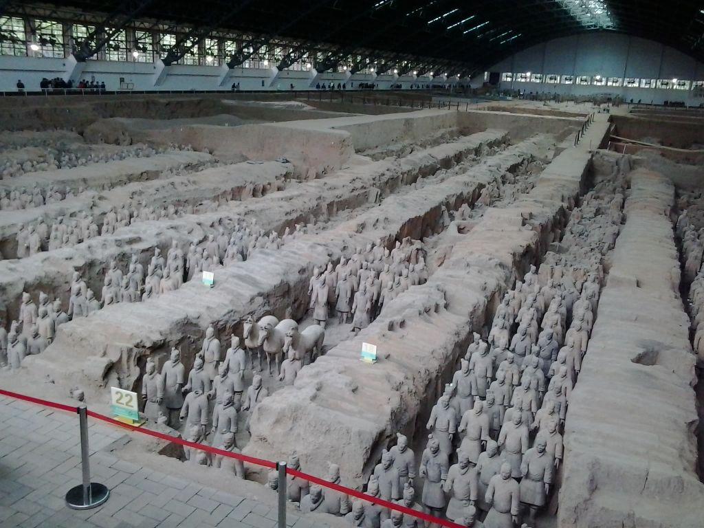 Xi'an Terra Cotta askerleri