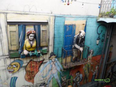 La Boca'nın Heykelleri
