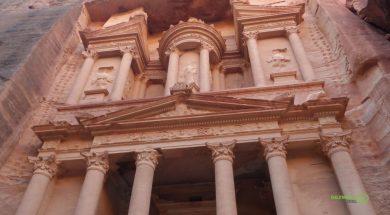 Petra Antik Kenti Treasuary