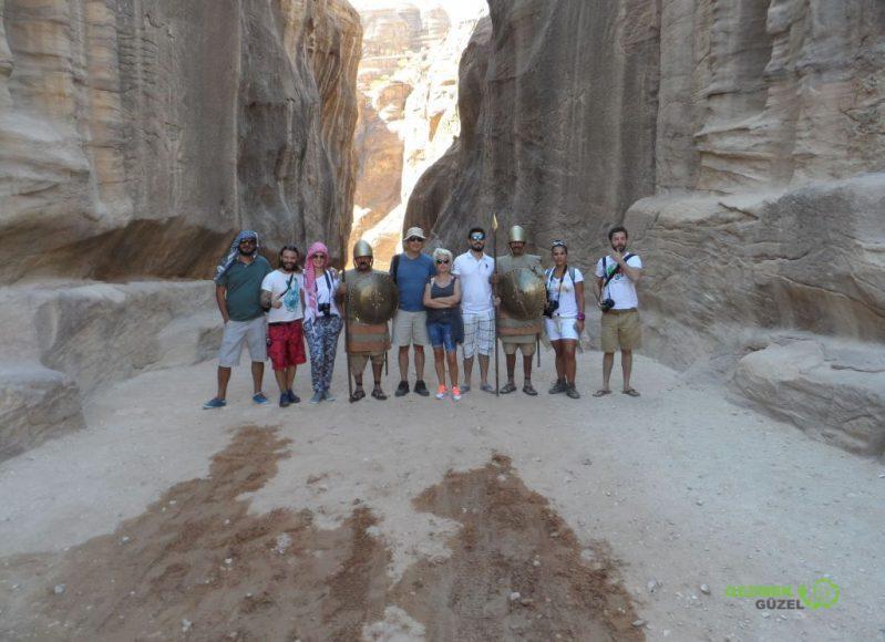 Petra The Siq Girişi, Petra Antik Kenti