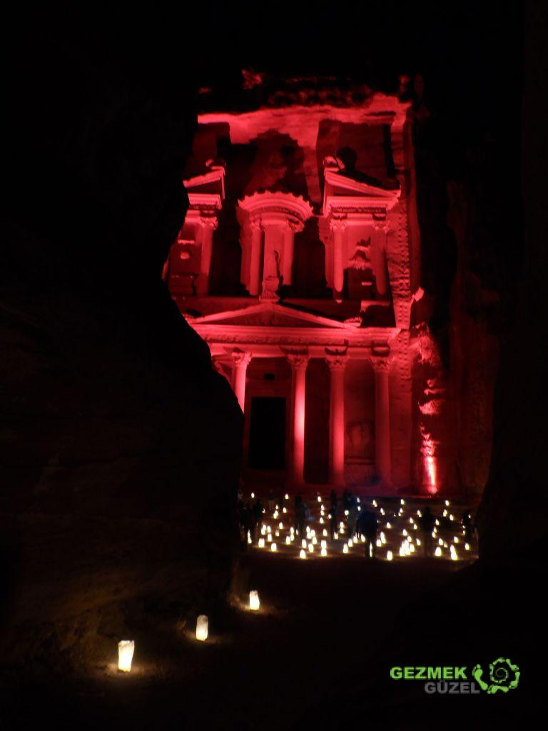 Treasury, Petra by Night, Petra Antik Kenti Gece