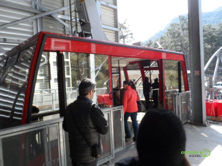 2 Günlük Antalya Turu, Olympos Gezilecek Yerler, Olympos Teleferik Kabini