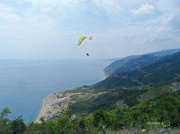 Kalkış Yapmış, Uçmakdere Yamaç Paraşütü, Gezginlerle Trakya Gezisi