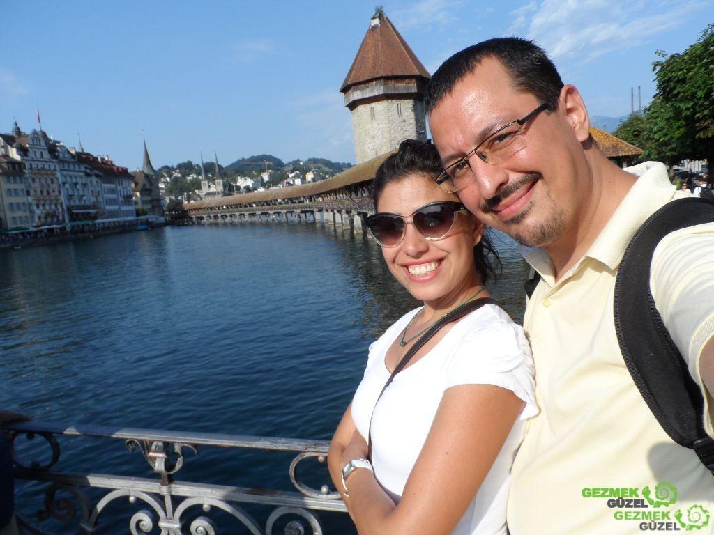 Kapellbrücke Köprüsü, Luzern Gezilecek Yerler