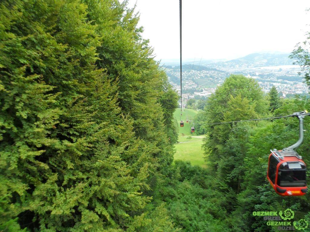 Mt. Pilatus Teleferik Çıkışı, Luzern Gezilecek Yerler