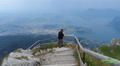 Mt.Pilatus dağı Zirvesinde, Luzern Gezilecek Yerler