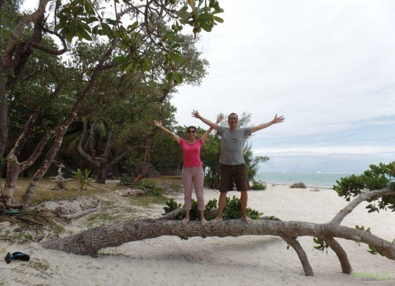 Ampanihy Bay, Madagaskar'da Balayı