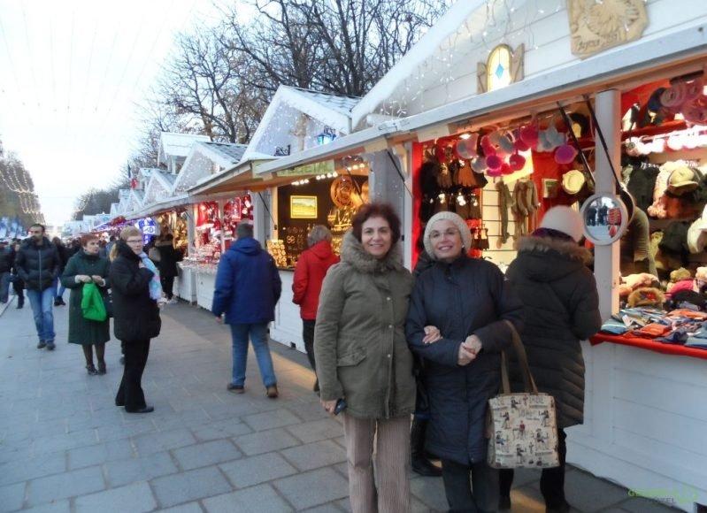 Pariste Noel Pazarında