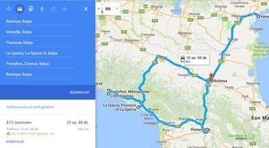 İtalya Gezi Planı