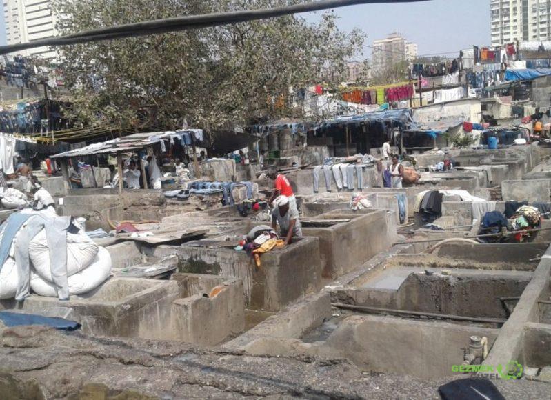 Dhobi Ghat çamaşırhanesi, Mumbai Gezi Notları; Güney Hindistan – Maldivler – Sri Lanka Gemi Turu Gezi Notları