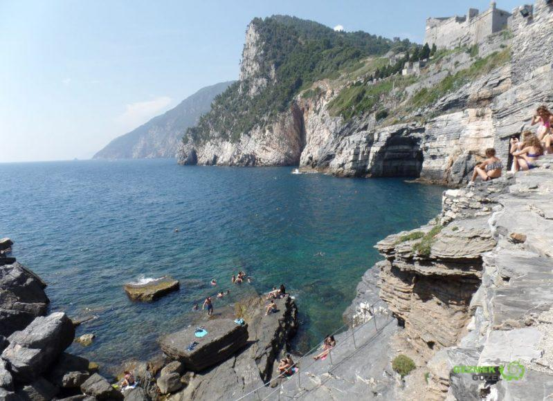 Porto Venere Kayalık koy, La Spezia