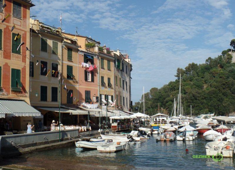 Portofino'nun pastel binaları, Portofino Gezisi