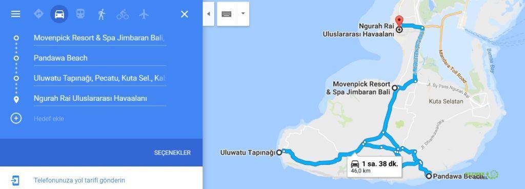 Kuta gezisi planı 2, Bali Gezi Planı, Endonezya Gezi Planı