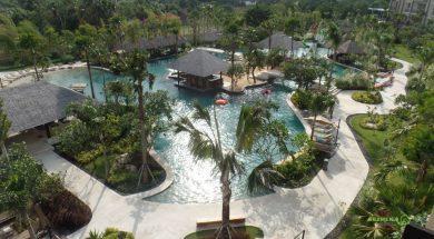 Bali'de Kuta'da Mövenpick Jimbaran'da Kalınır