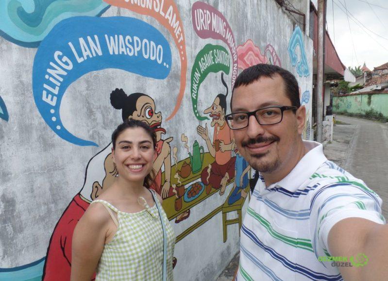Kraliyet Sarayı Kraton, Grafili Duvarlar, Yogyakarta Gezisi