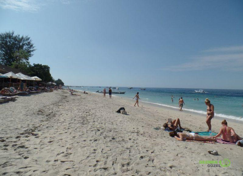 Gili Air sahili, Gili Adaları