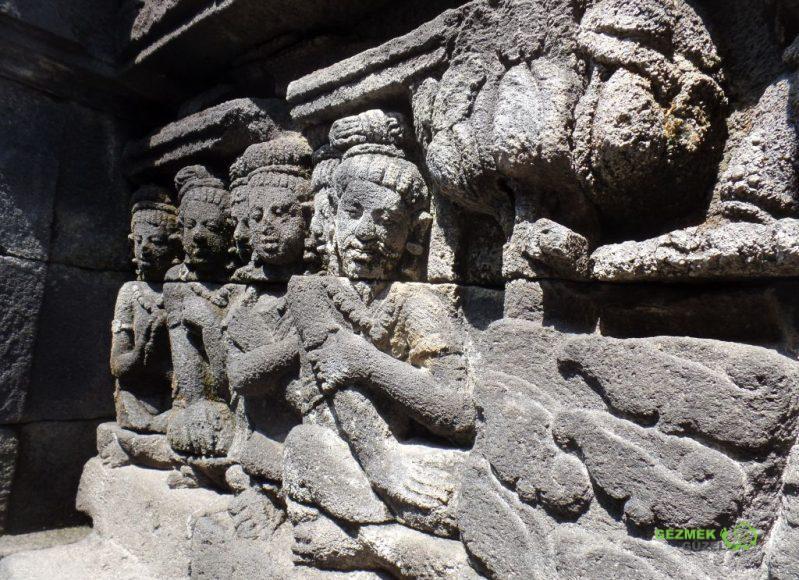 Kakma detayları, Borobudur Tapınağı