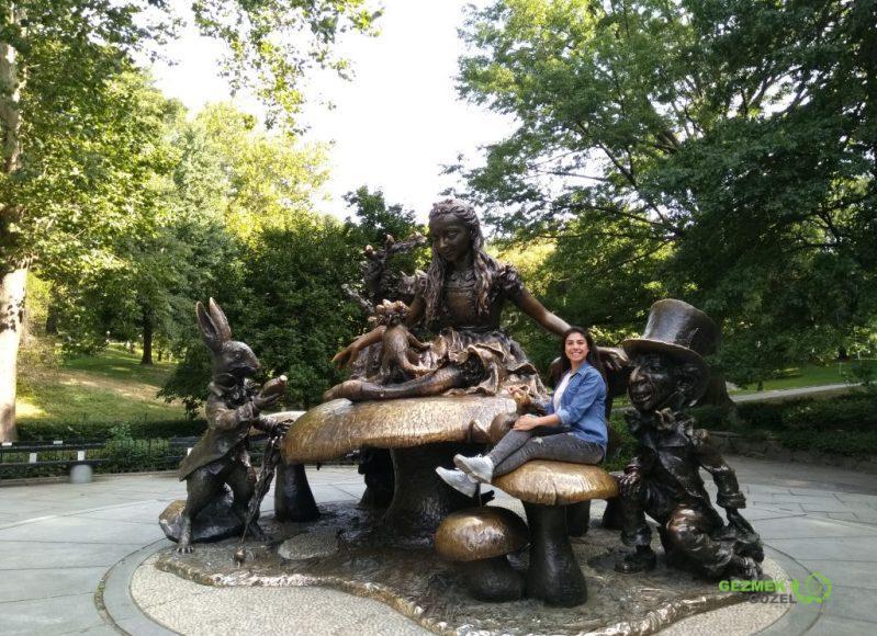 Alice Harikalar Diyarı parkı, Central Park Gezisi, New York