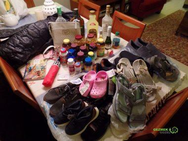 Bol ayakkabılı Amerika'da Alışveriş