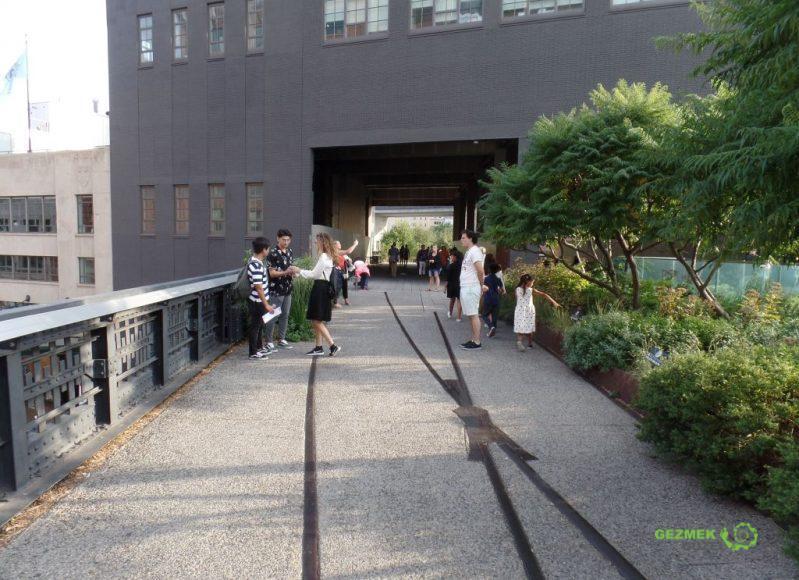 High Line, New York Gezilecek Yerler