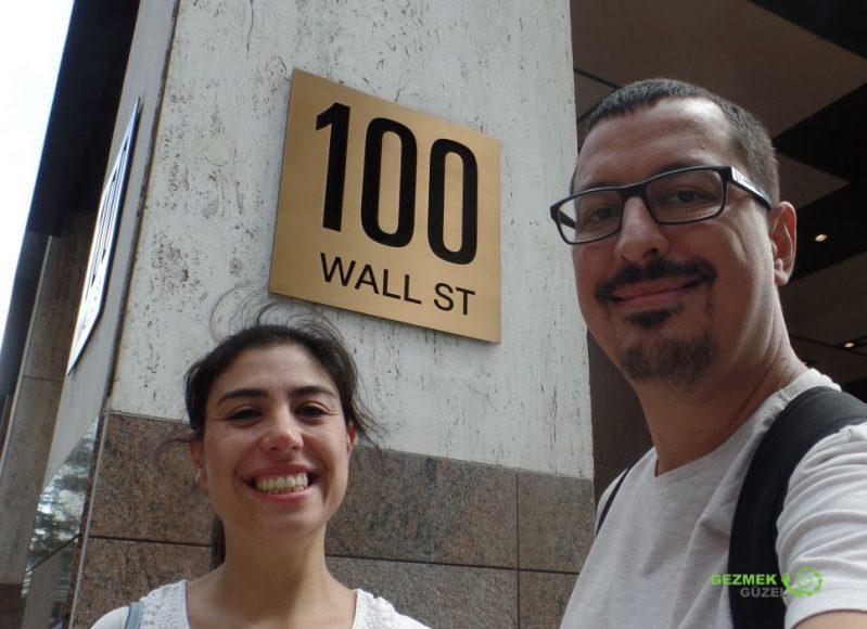 Wall Street, New York Gezilecek Yerler