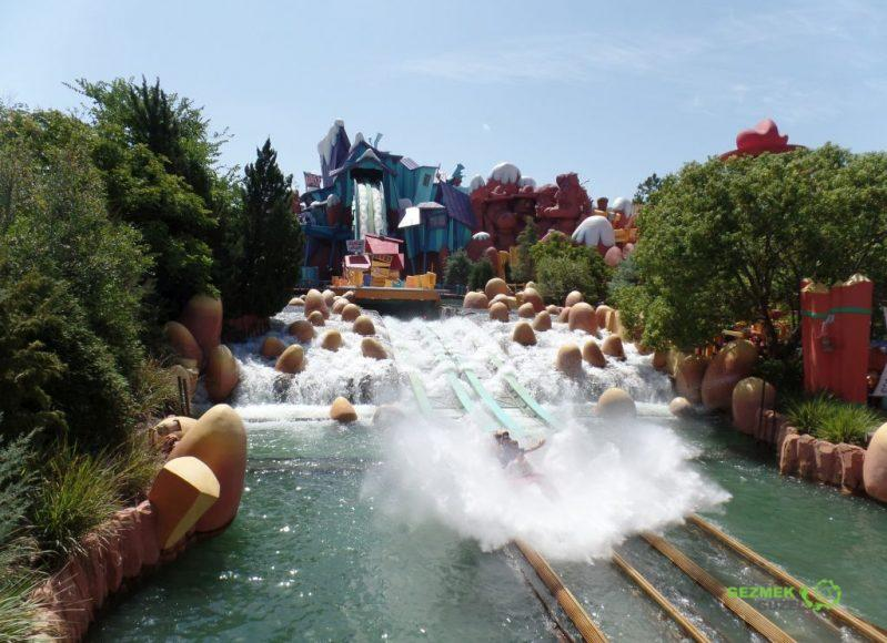 Universal Studios Islands of Adventure Dudley Do-Right Ripsaw Falls
