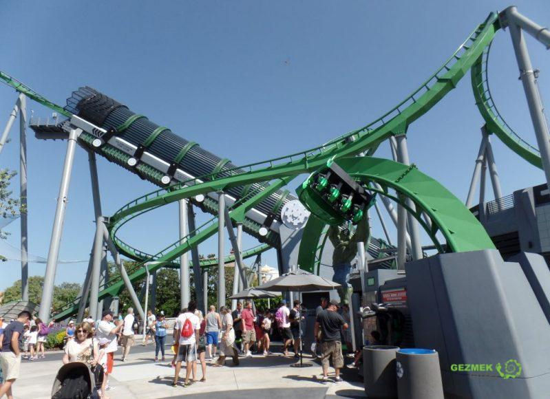 Universal Studios Islands of Adventure Hulk Ride
