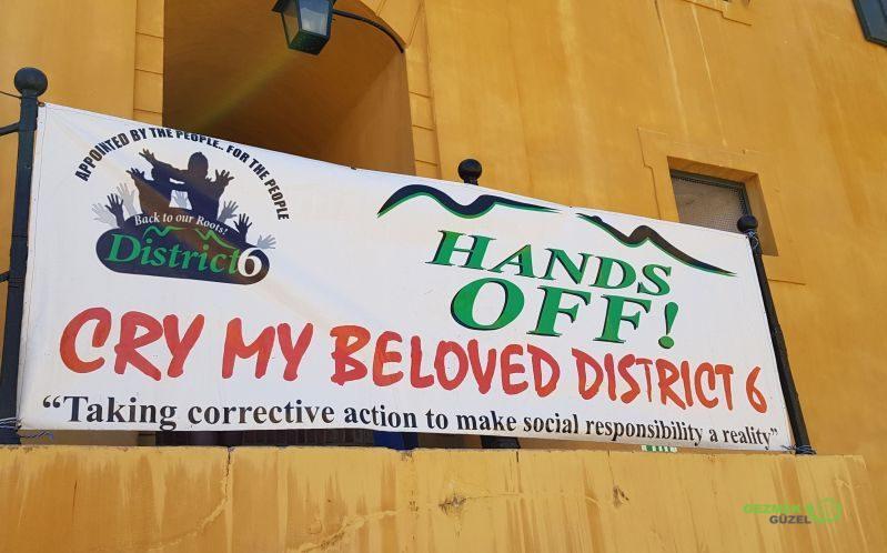 Güney Afrika'da Ayrımcılık - District 6 Komitesi Toplantısı