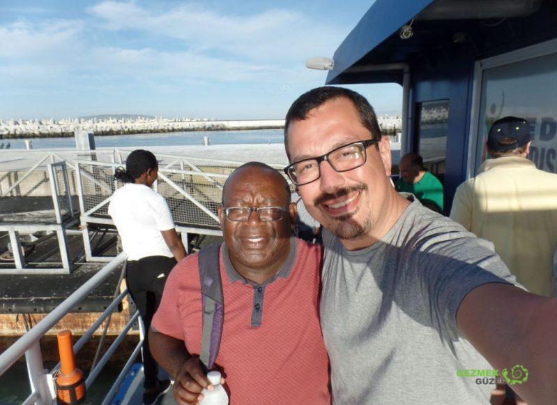 Robben Adası Turu, Rehberimiz ve ben