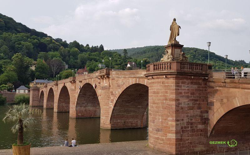 Alte Brücke, Heidelberg Gezilecek Yerler