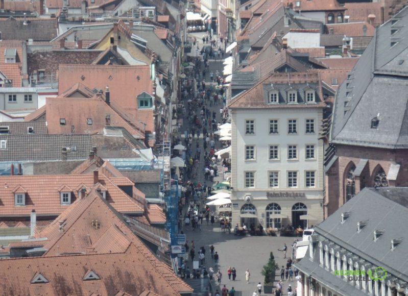 Hauptstrasse, Heidelberg Gezilecek Yerler