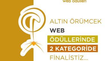 Altın Örümcek Web Ödüllerinde 2 Kategoride Finalistiz-Kare
