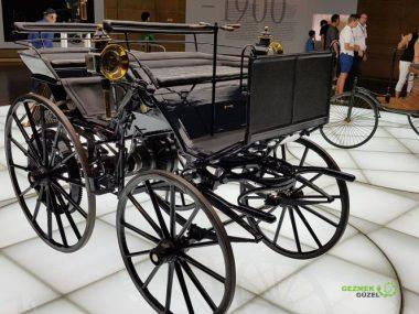 Mercedes Müzesi, İlk motorlu taşıtlar