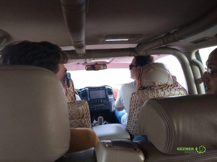 4x4 araç safarisi, Dubai Çöl safarisi