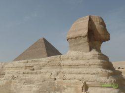 Kahire Gezi Rehberi, Gize Piramitleri Sfenks