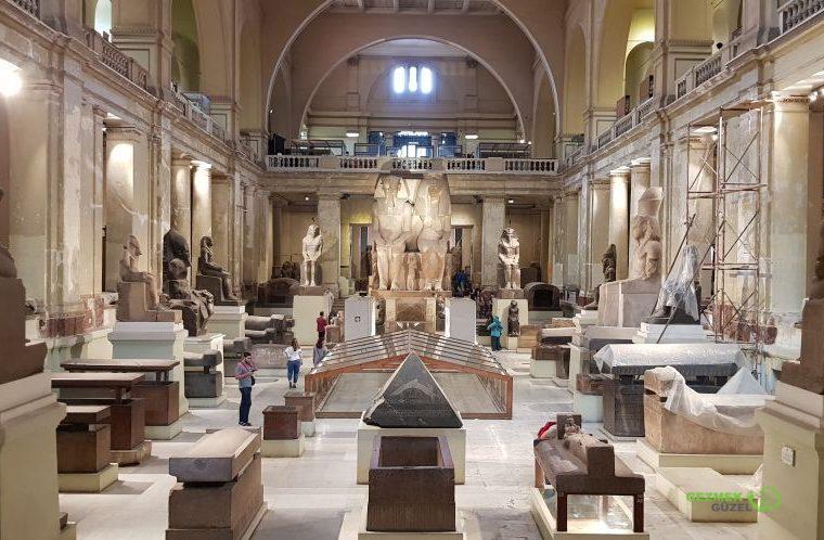 Kahire Müzesi, Orta Avlu