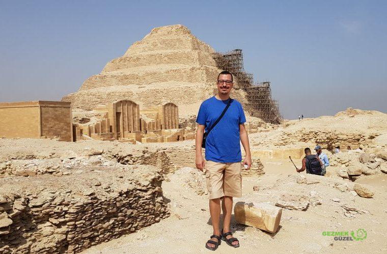 Mısır Piramitleri Hakkında - Djoser'in Piramidi