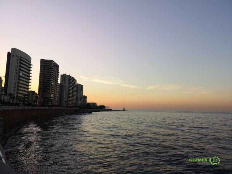 Corniche - Beyrut Gezilecek Yerler