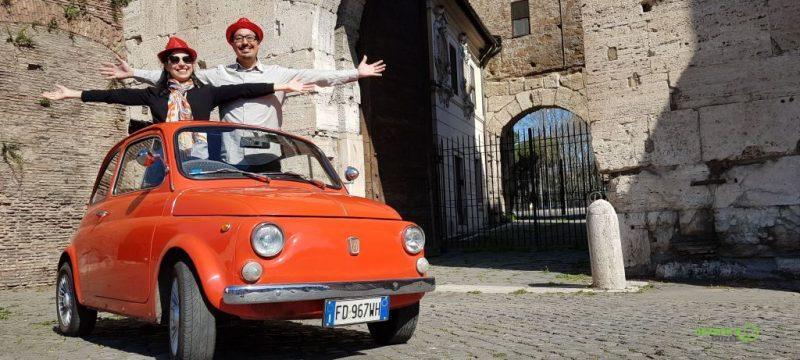 Fiat 500 - Roma Gezi Rehberi