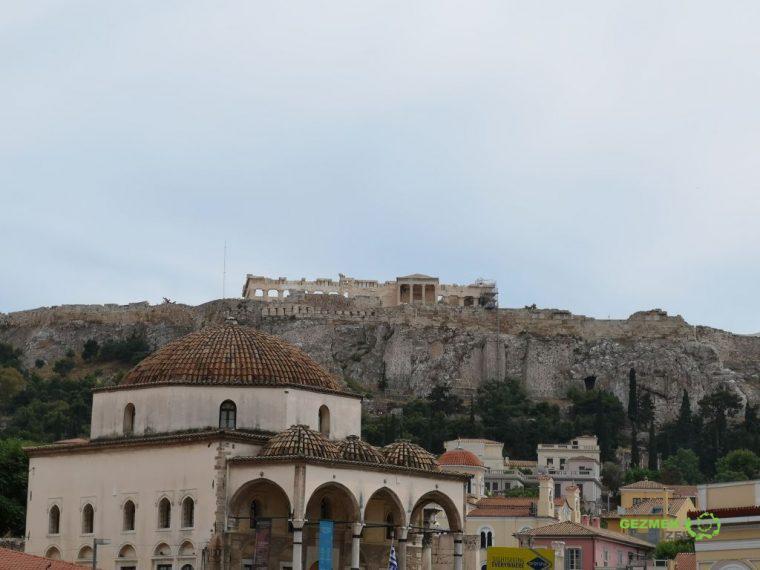 Cizderiye Camii - Akropolis, Atina Gezi Rehberi